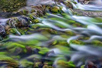 Photograph - Luminous Waters 2 by Leland D Howard
