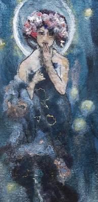 Painting - Luna by Susanne Weber