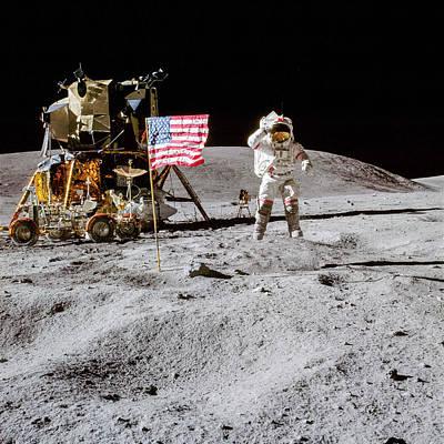Sheep - Lunar Salute 2 - Apollo 16 by Nasa