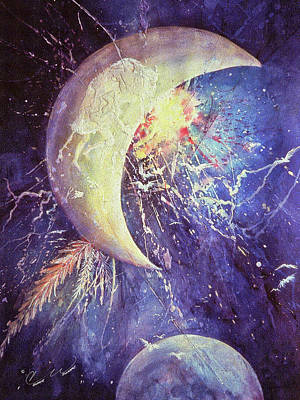 Painting - Lunar Spirit by Connie Williams