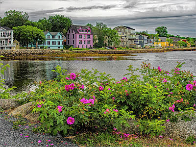 Photograph - Lunenberg Homes by Phyllis Holler