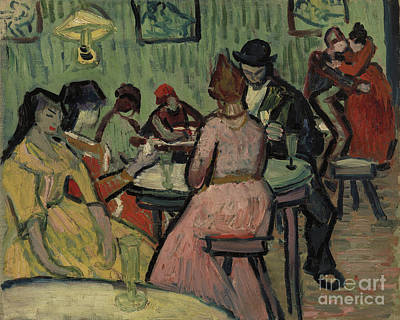 Painting - Lupanar Brothel Scene by Vincent Van Gogh