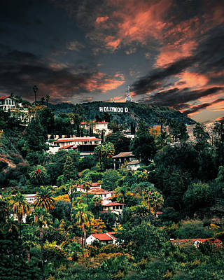 Photograph - Lush Los Angeles by Andrew Mason