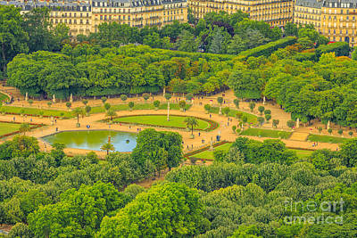 Palais Du Luxembourg Wall Art - Photograph - Luxembourg Gardens Of Paris by Benny Marty