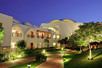 Balcony Photograph - Luxury Hotel Resort by Cunfek