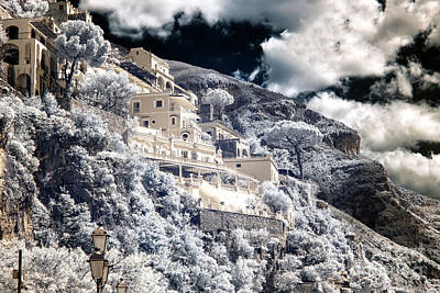 Photograph - Luxury In Positano Infrared by John Rizzuto