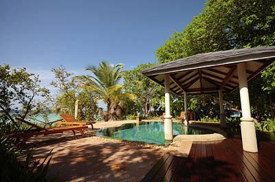 Photograph - Luxury Maldivian Resort Suite by Jenny Rainbow
