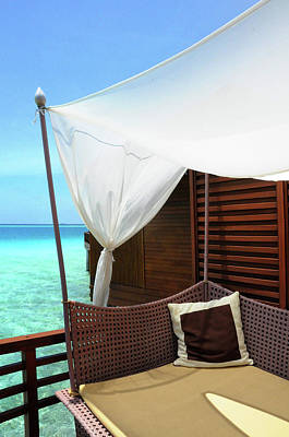 Photograph - Luxury Of Maldives 1 by Jenny Rainbow