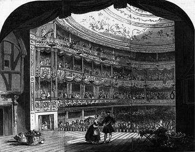 Lyceum Theatre Art Print by Hulton Archive