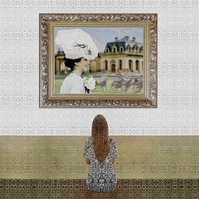 Digital Art - Ma Mere A Chantilly by Diego Taborda