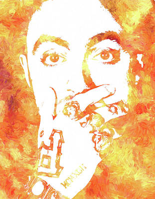Painting - Mac Miller by Dan Sproul