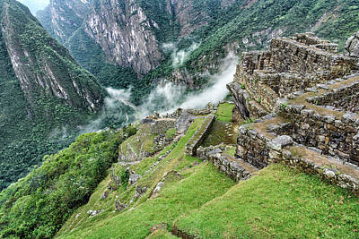 Photograph - Machu Picchu by Jon Exley