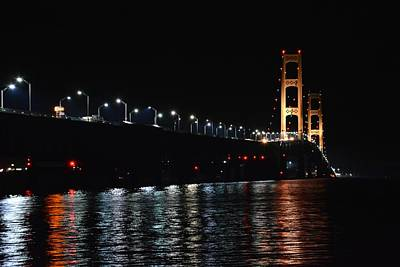 Photograph - Mackinac Lights by Keith Stokes