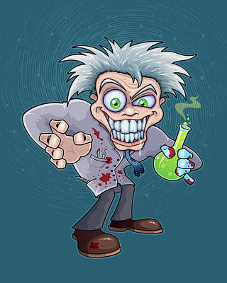 Royalty-Free and Rights-Managed Images - Mad Scientist by John Schwegel