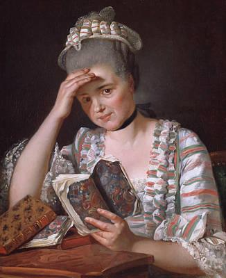 Painting - Madame Francois Buron by Jacques-Louis David