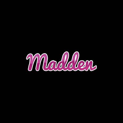 Digital Art Royalty Free Images - Madden #Madden Royalty-Free Image by TintoDesigns