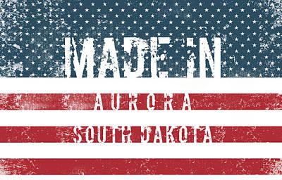 Blue Hues - Made in Aurora, South Dakota #Aurora #South Dakota by TintoDesigns