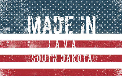 David Bowie - Made in Java, South Dakota #Java #South Dakota by TintoDesigns