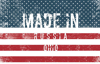 Man Cave - Made in Russia, Ohio #Russia by TintoDesigns