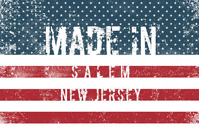 Travel - Made in Salem, New Jersey #Salem #New Jersey by TintoDesigns