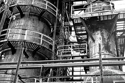 Photograph - Made Of Steel At Bethlehem Steel by John Rizzuto