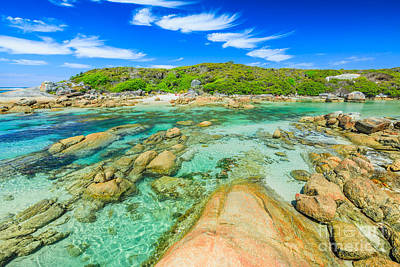 Photograph - Madfish Beach In William Bay by Benny Marty