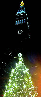 Kim Fearheiley Photography - Madison Park Christmas Tree w/ Met Life Tower 1 by Ken Lerner