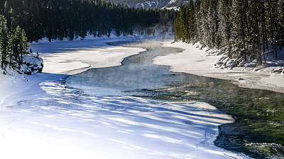 Photograph - Madison River Blues by Karen Wiles