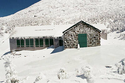 Photograph - Madison Spring Hut ready for Winter by Larry Davis Custom Photography