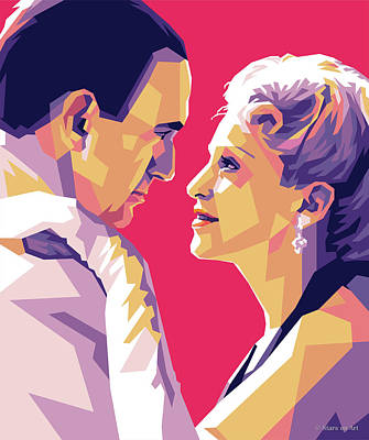 Staff Picks Cortney Herron - Madonna and Jonathan Pryce by Stars on Art