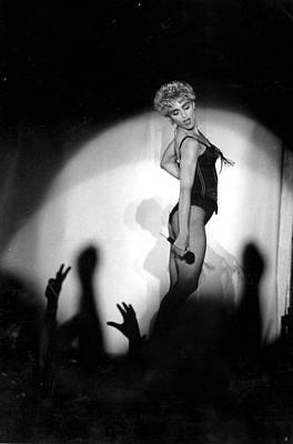 Photograph - Madonna Concert Performing At Veterans by New York Daily News Archive