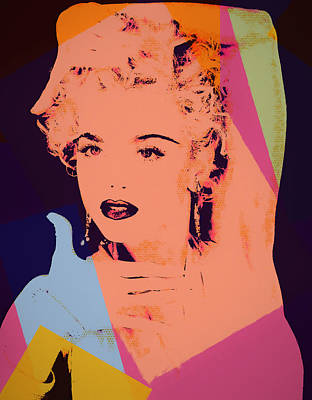 Painting - Madonna Pop Art Pose by Dan Sproul