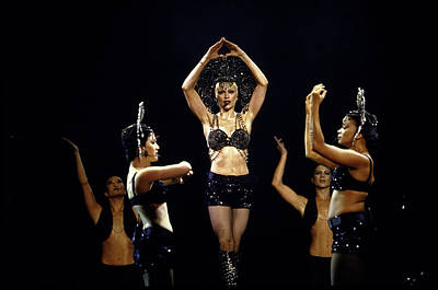 Photograph - Madonna by Time Life Pictures