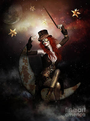 Steampunk Royalty-Free and Rights-Managed Images - Maestro Steampunk by Shanina Conway