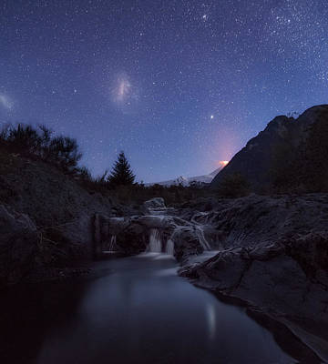 Photograph - Magellanic Clouds Pucon by Photography by KO