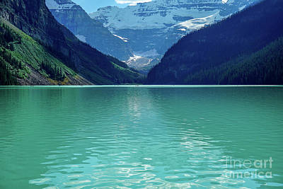 Photograph - Magic At Lake Louise by Susan Rydberg