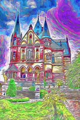 Priska Wettstein Pink Hues - Magic castle by Nenad Vasic