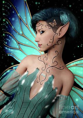 Digital Art - Magic by Elle Arden Walby