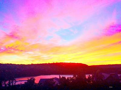 Photograph - Magic Mosman Sunset     Dedicated  by VIVA Anderson