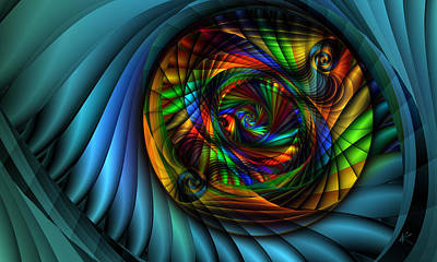 Ps I Love You - Magic Tunnel by Kiki Art