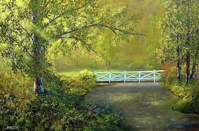 Painting - Magic Walk by Michael Mrozik