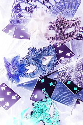 Magical Masquerade Art Print