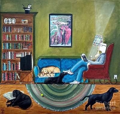 Painting - Magic's Room by John Lyes