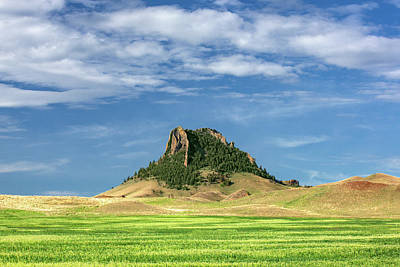 Photograph - Magnificent Butte by Todd Klassy