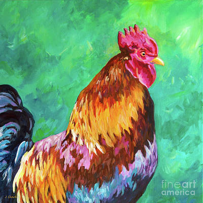 Royalty-Free and Rights-Managed Images - Magnificent Rooster square by John Clark