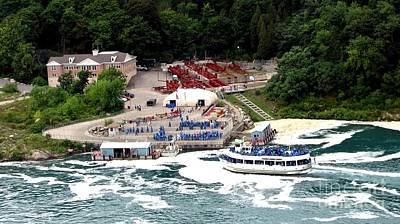 Photograph - Maid Of The Mist Tour Boat At Niagara Falls by Rose Santuci-Sofranko