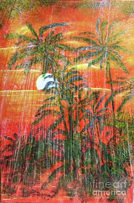 Bath Time Rights Managed Images - Maikai Bamboo Mahina Royalty-Free Image by Michael Silbaugh