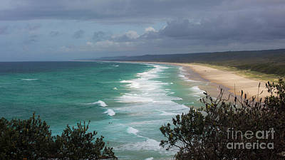 Christmas Christopher And Amanda Elwell - Main beach on Straddie by Agnes Caruso