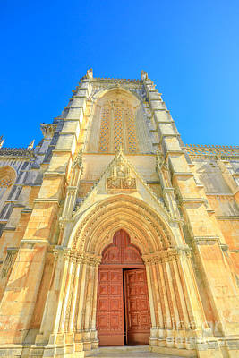 Photograph - Main Portal Batalha by Benny Marty