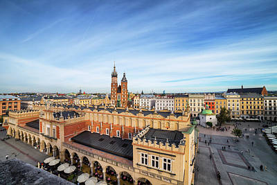 Photograph - Main Square In Old Town Of Krakow by Artur Bogacki